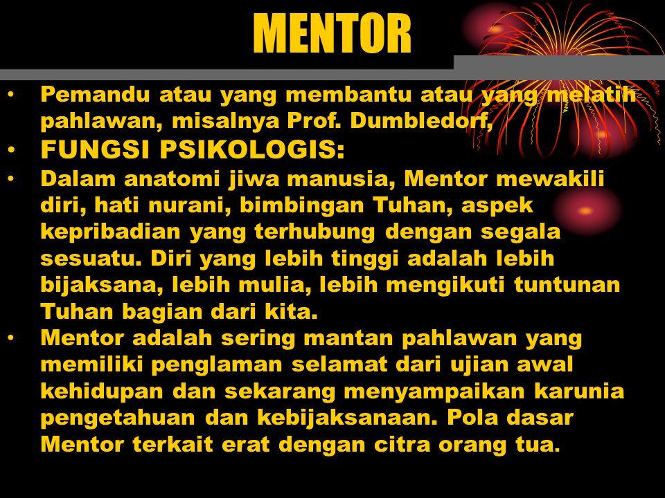 MENTOR FUNGSI PSIKOLOGIS: