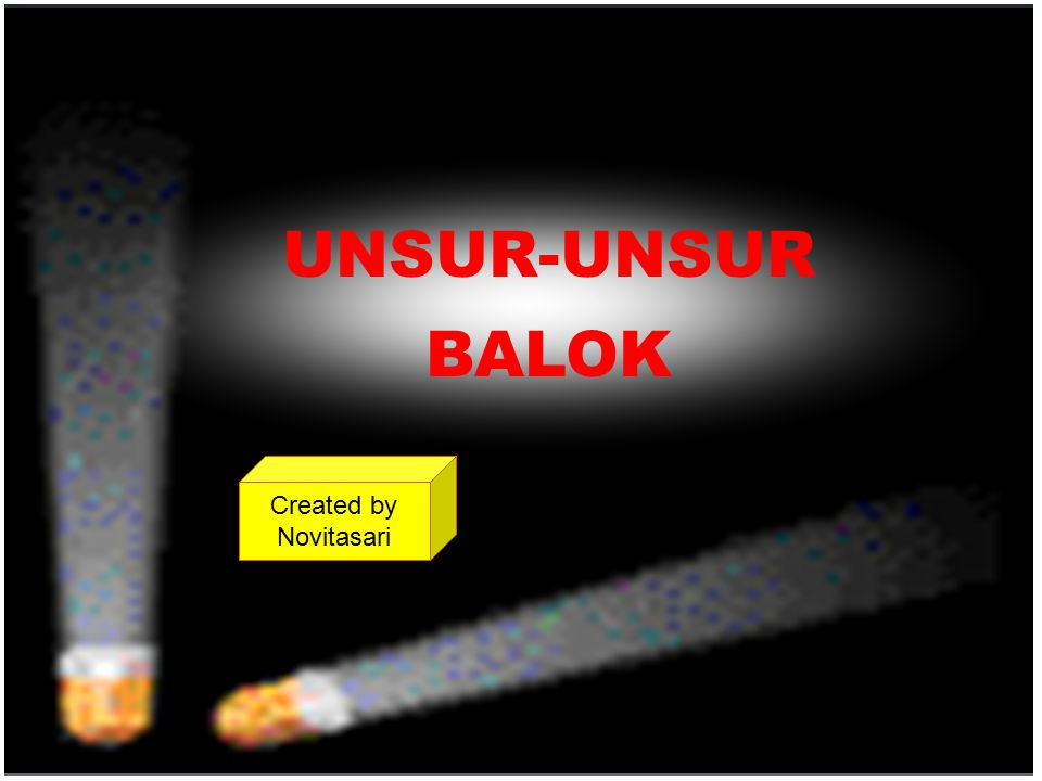 UNSUR-UNSUR BALOK Created by Novitasari created by Novitasari