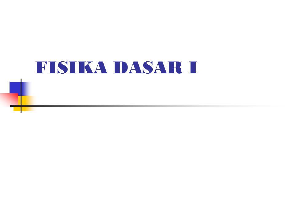 FISIKA DASAR I