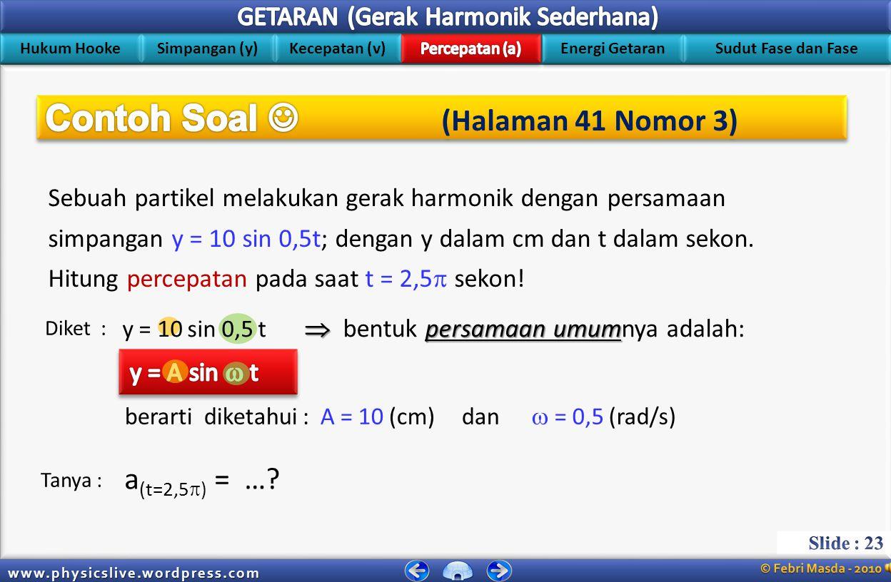 Contoh Soal  (Halaman 41 Nomor 3)