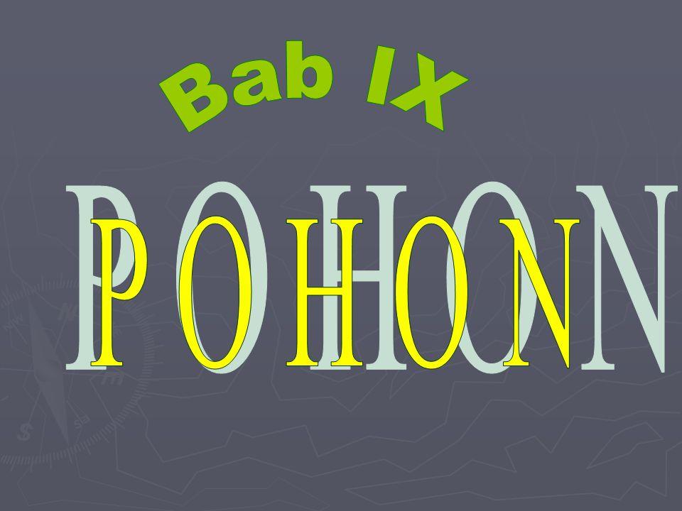 Bab IX P O H O N