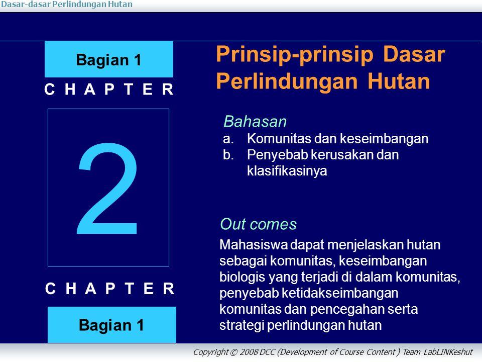 2 Prinsip-prinsip Dasar Perlindungan Hutan Bagian 1 C H A P T E R