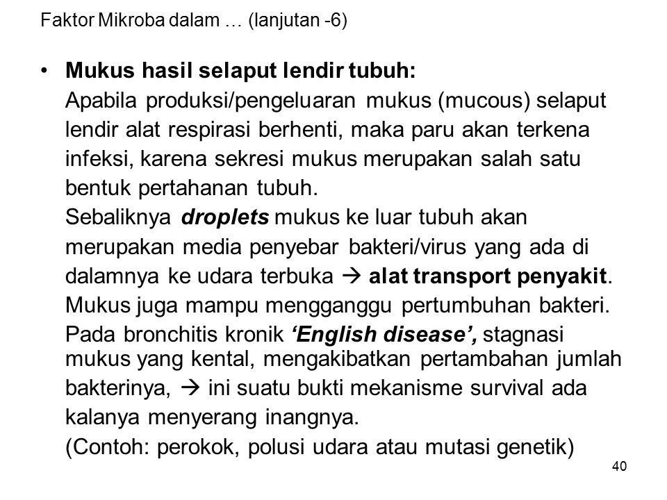 Faktor Mikroba dalam … (Lanjutan -7)