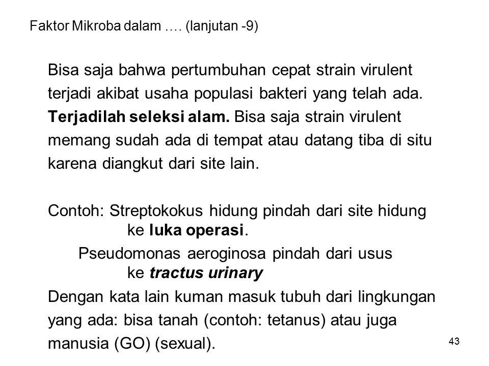 Faktor Mikroba dalam …. (lanjutan -10)