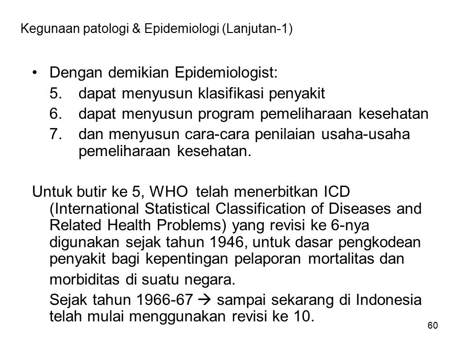 Contoh Code Penyakit Flu burung (Avian Flu) Virus AI (H5N1)61. Influenza with pneumonia, influenza virus identified J10.0.