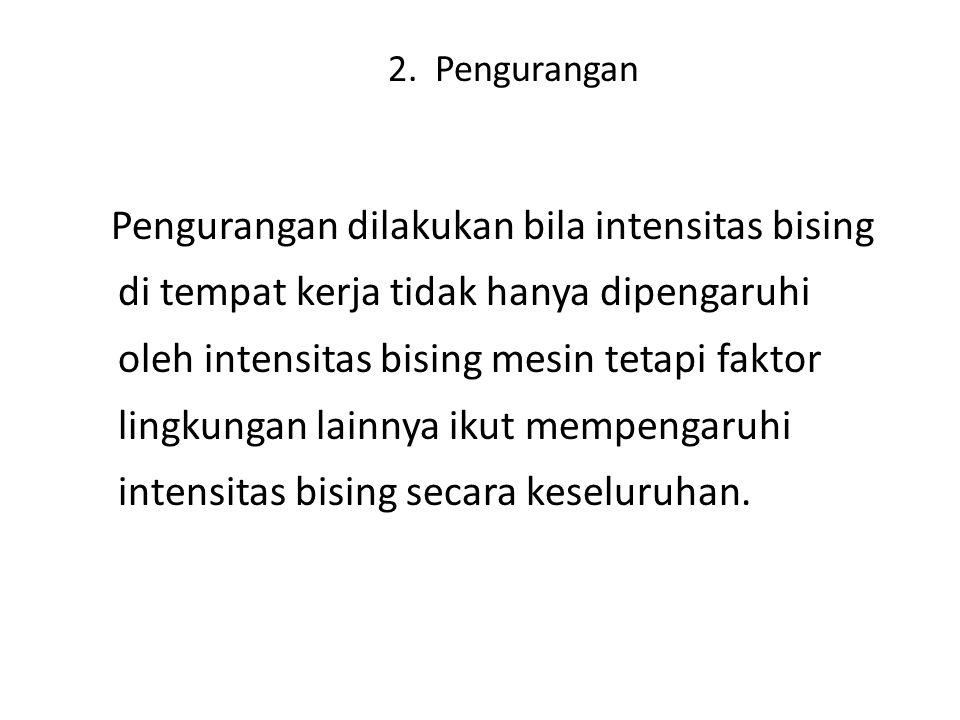 2. Pengurangan