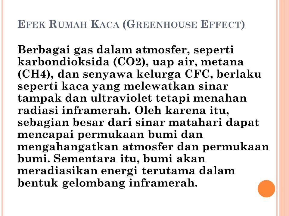 Efek Rumah Kaca (Greenhouse Effect)