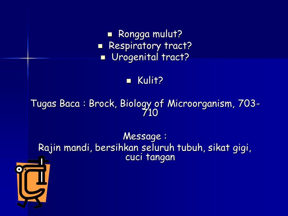 Tugas Baca : Brock, Biology of Microorganism, 703- 710