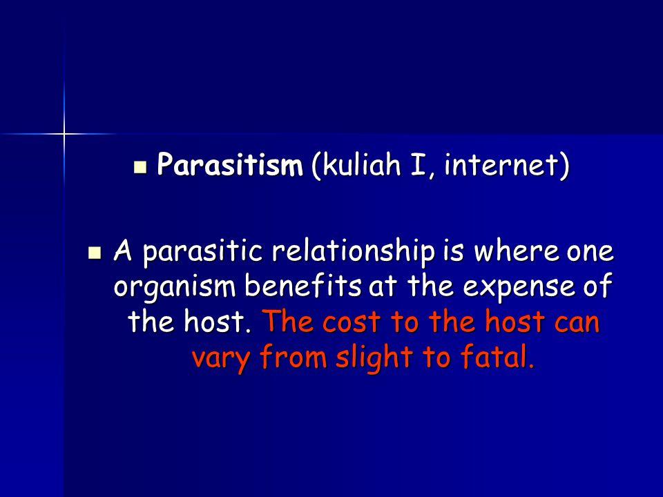 Parasitism (kuliah I, internet)
