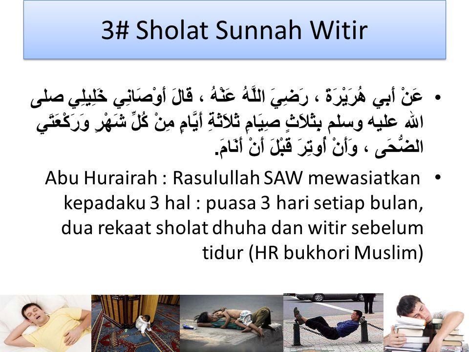 3# Sholat Sunnah Witir