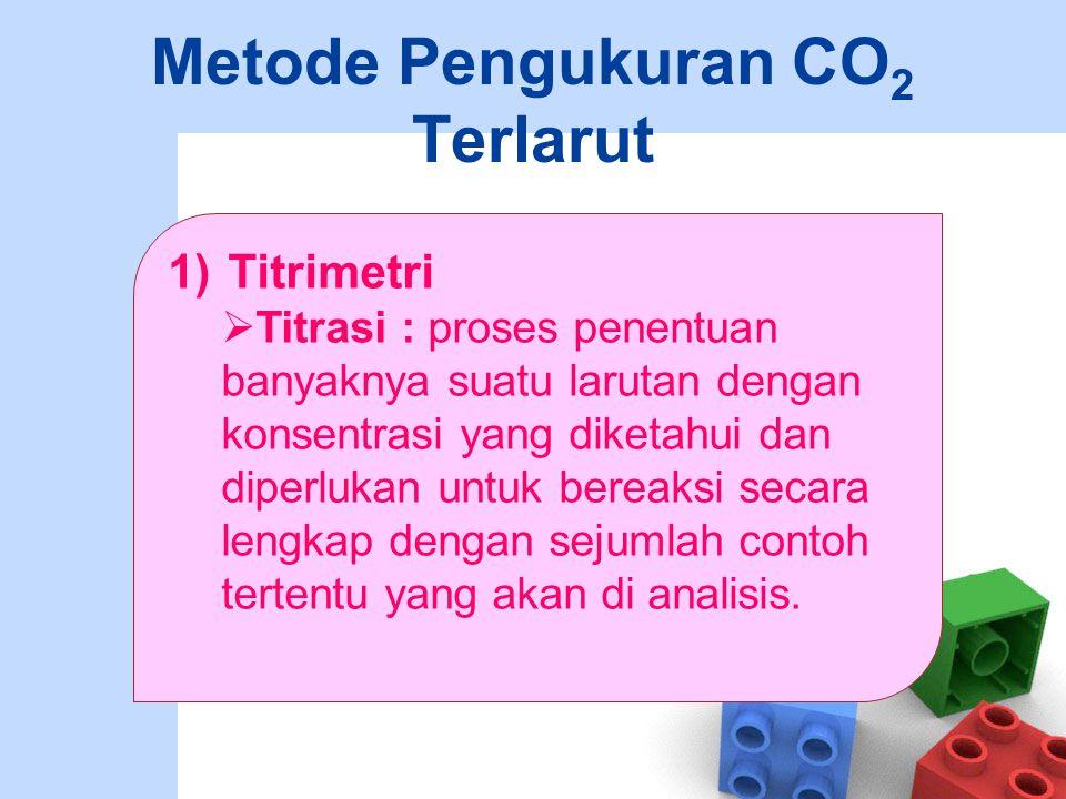 Metode Pengukuran CO2 Terlarut