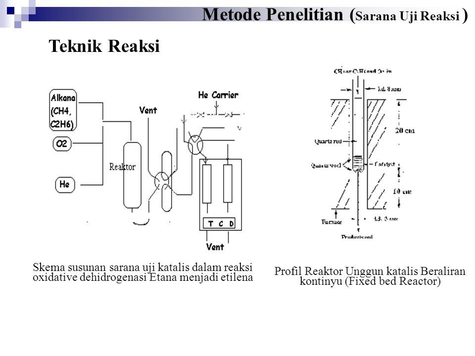 Profil Reaktor Unggun katalis Beraliran kontinyu (Fixed bed Reactor)