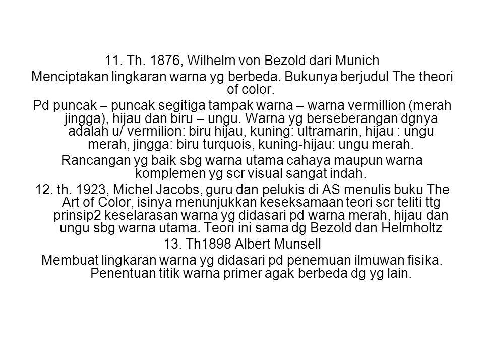 11. Th. 1876, Wilhelm von Bezold dari Munich