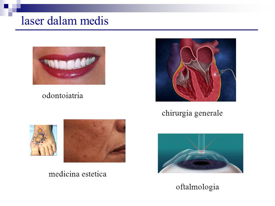 laser dalam medis odontoiatria chirurgia generale medicina estetica