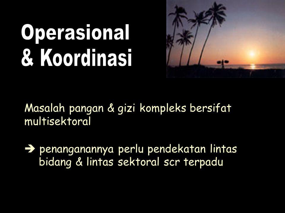 Operasional & Koordinasi
