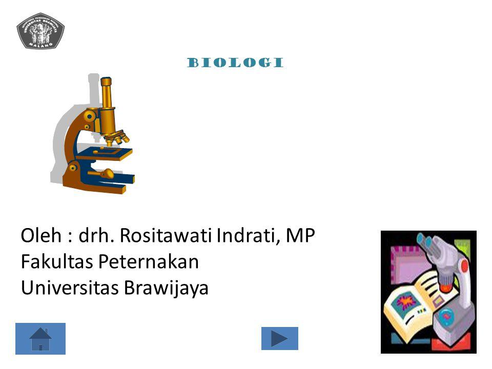Oleh : drh. Rositawati Indrati, MP Fakultas Peternakan