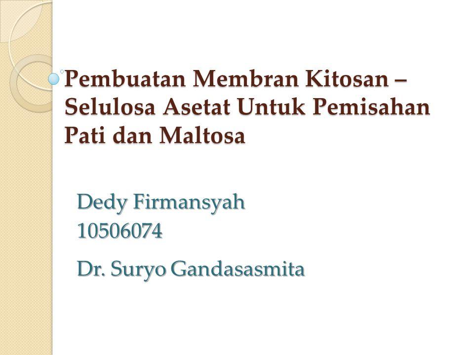 Dedy Firmansyah 10506074 Dr. Suryo Gandasasmita
