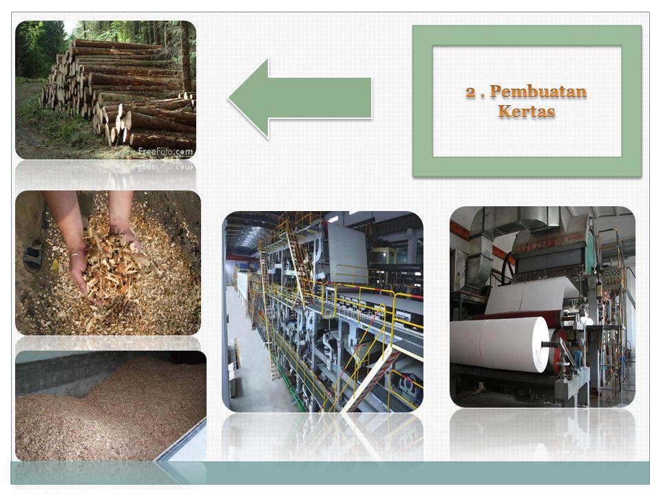 2 . Pembuatan Kertas
