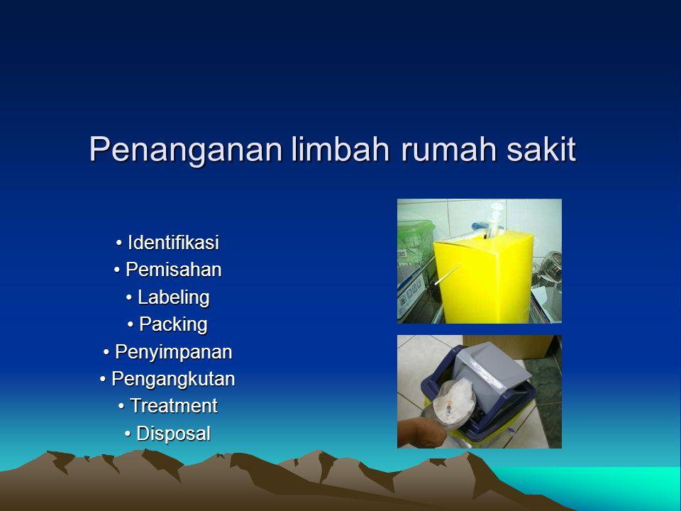 Penanganan limbah rumah sakit