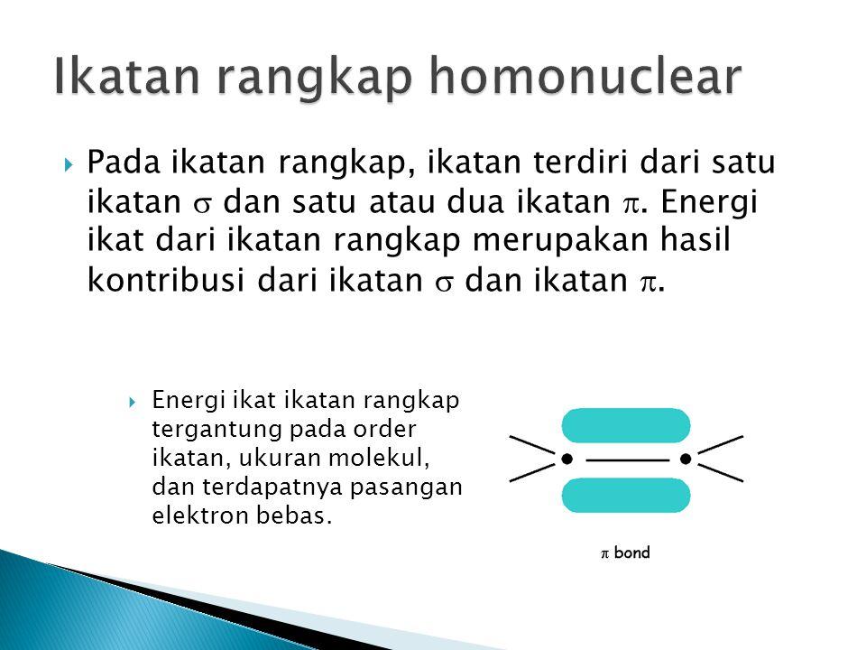 Ikatan rangkap homonuclear