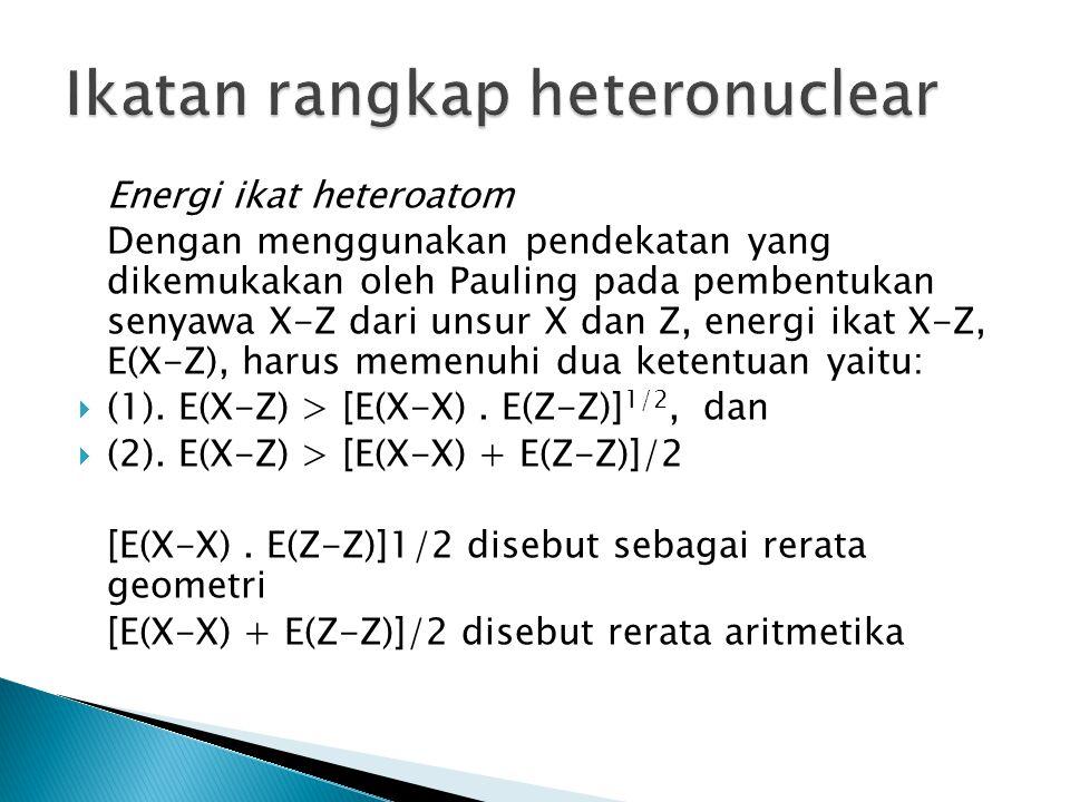 Ikatan rangkap heteronuclear