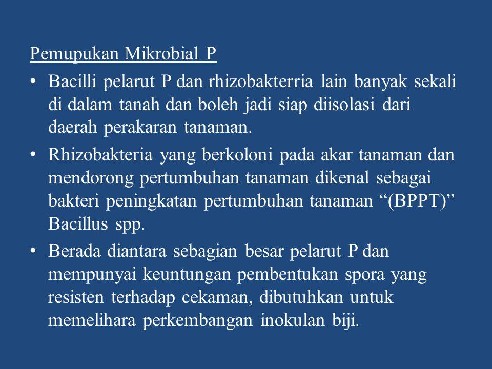 Pemupukan Mikrobial P