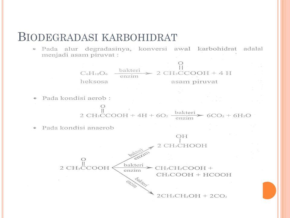 Biodegradasi karbohidrat