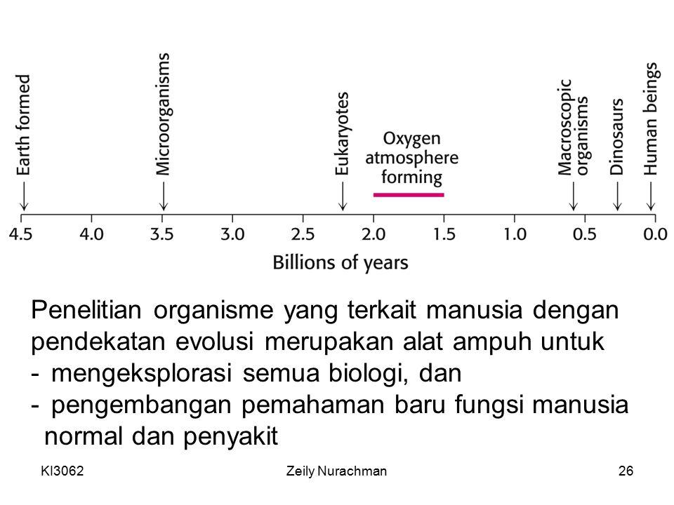 Penelitian organisme yang terkait manusia dengan