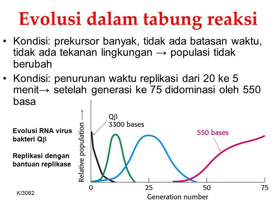 Evolusi dalam tabung reaksi