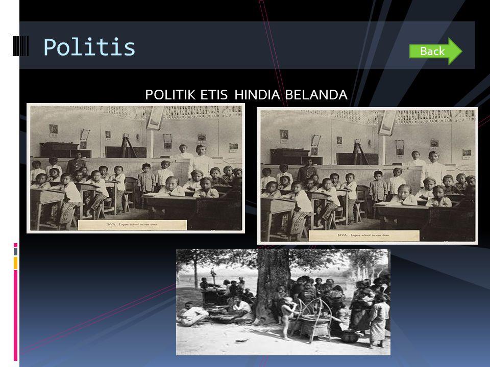 POLITIK ETIS HINDIA BELANDA