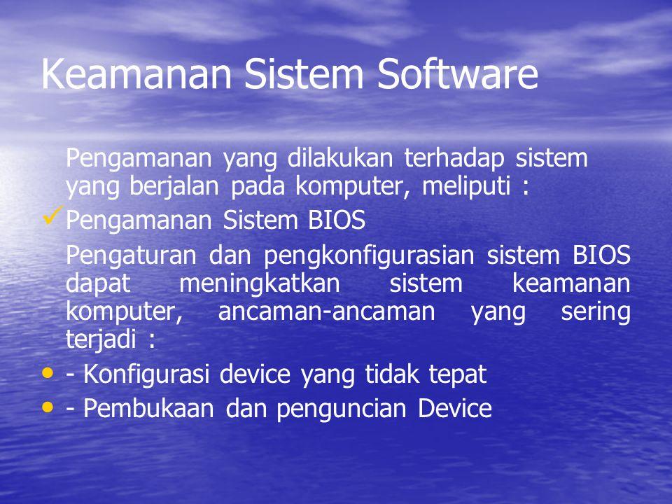 Keamanan Sistem Software