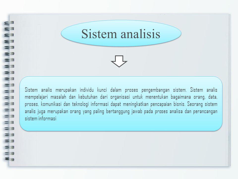 Sistem analisis