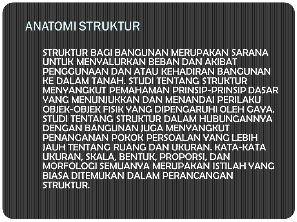 ANATOMI STRUKTUR