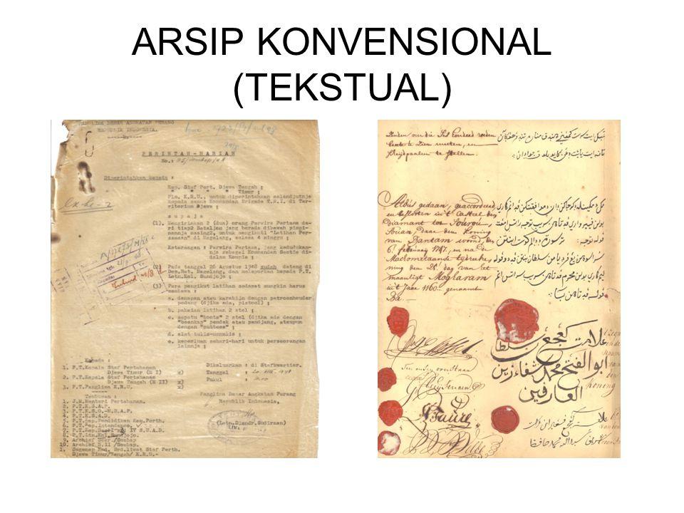ARSIP KONVENSIONAL (TEKSTUAL)