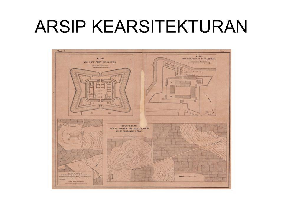 ARSIP KEARSITEKTURAN