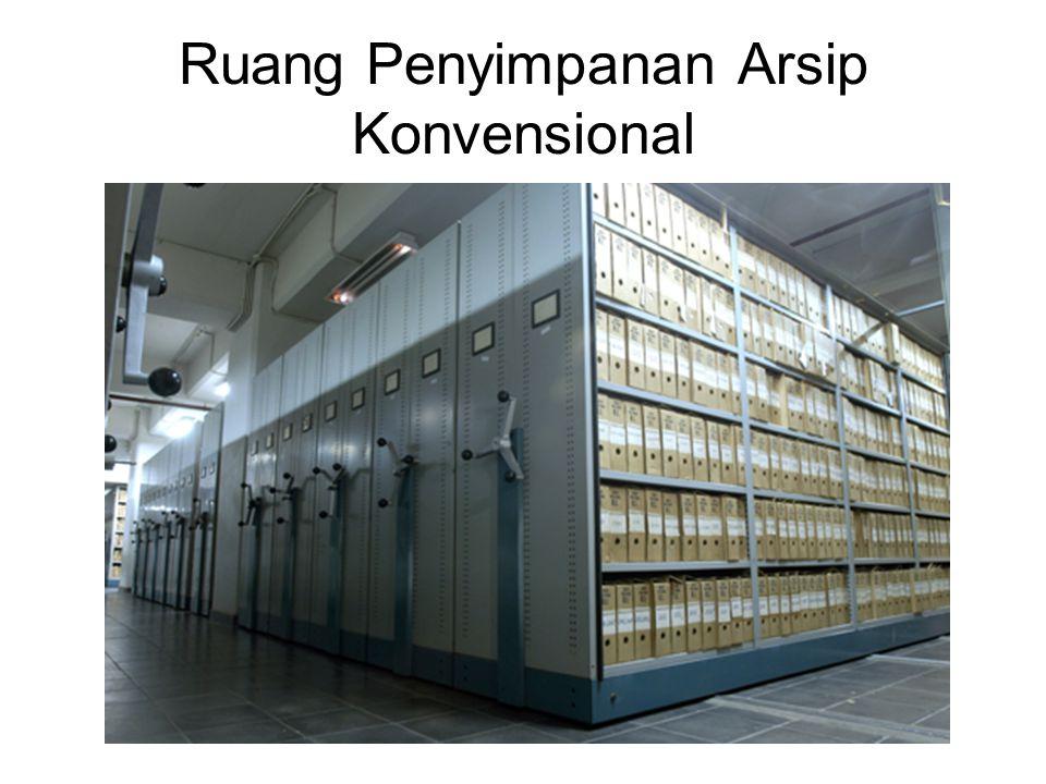 Ruang Penyimpanan Arsip Konvensional