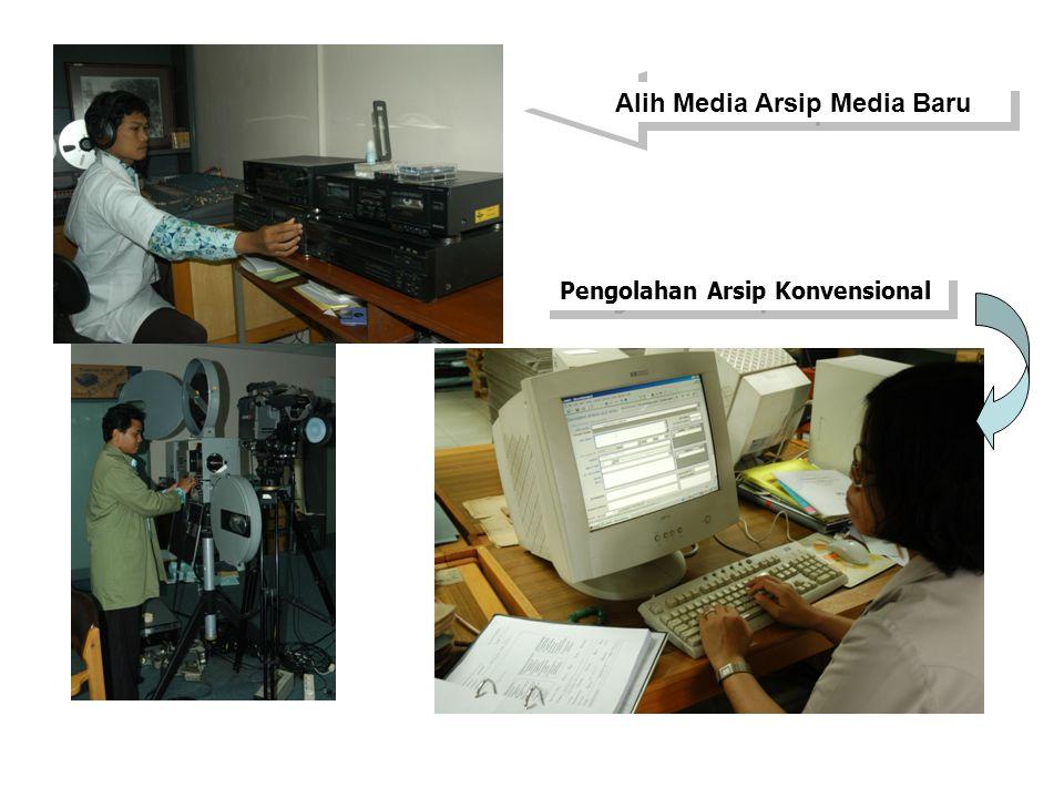 Alih Media Arsip Media Baru Pengolahan Arsip Konvensional