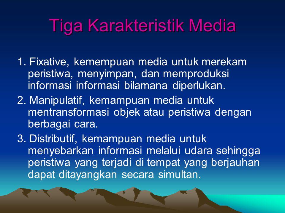 Tiga Karakteristik Media