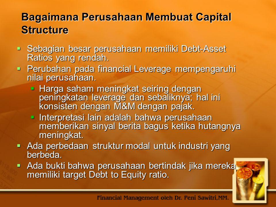 Bagaimana Perusahaan Membuat Capital Structure