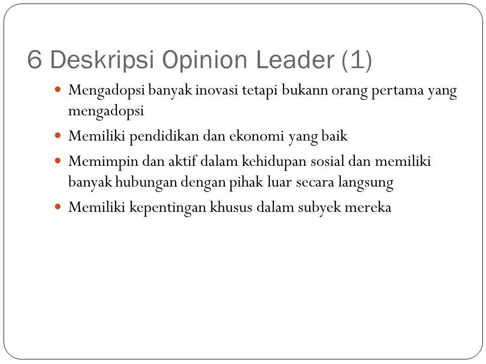 6 Deskripsi Opinion Leader (1)