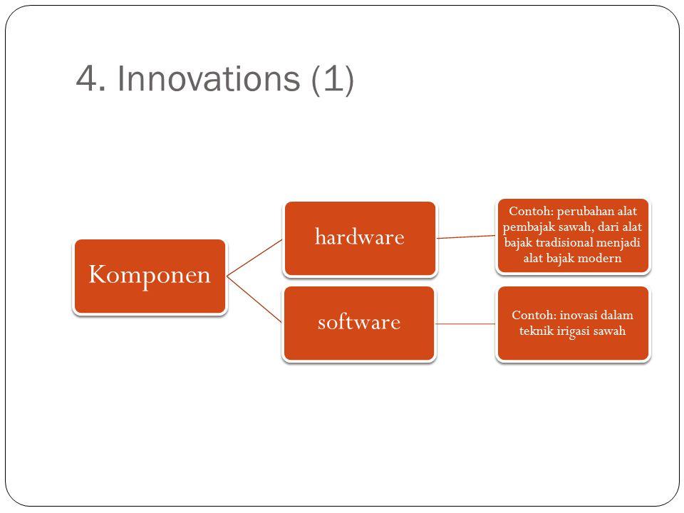 Contoh: inovasi dalam teknik irigasi sawah