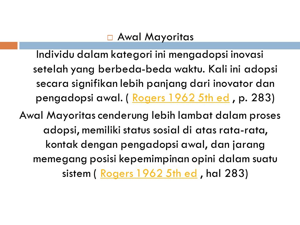 Awal Mayoritas