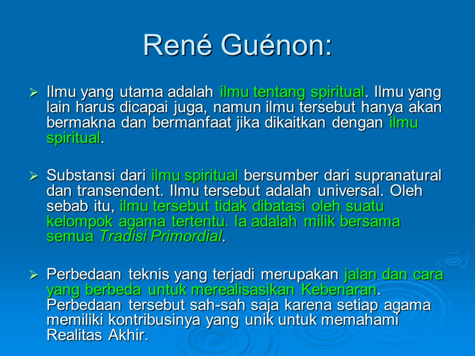 René Guénon:
