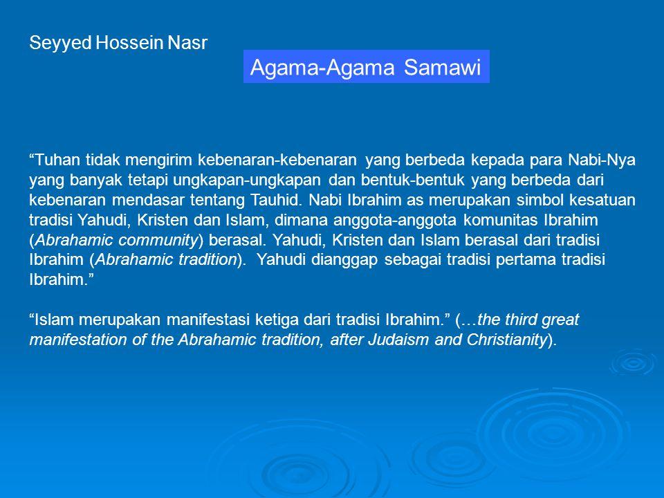 Agama-Agama Samawi Seyyed Hossein Nasr