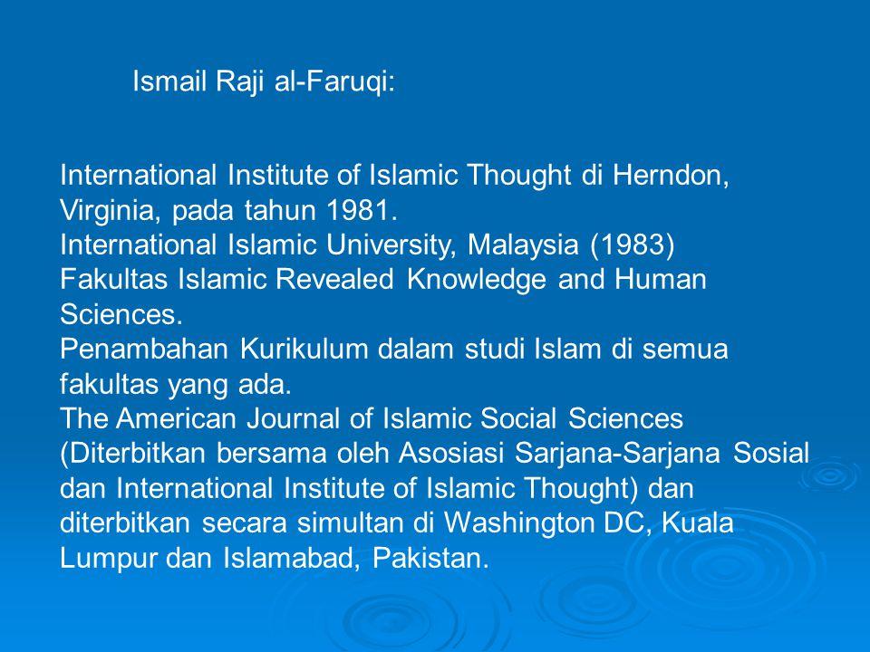 Ismail Raji al-Faruqi: