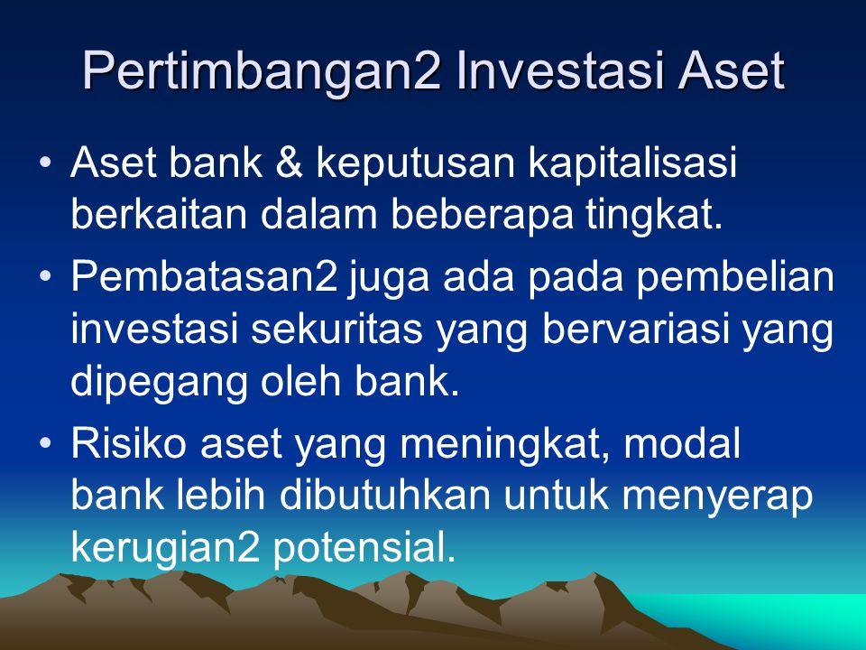 Pertimbangan2 Investasi Aset