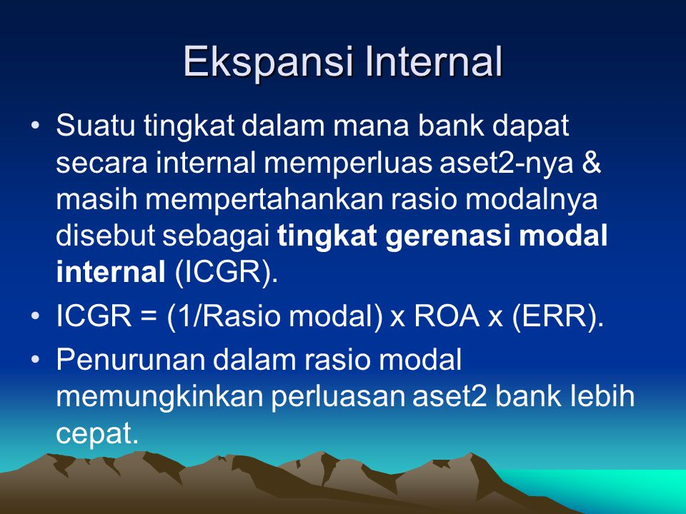Ekspansi Internal