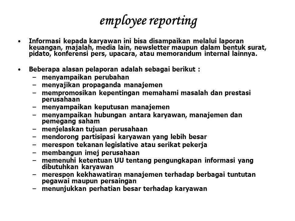 employee reporting