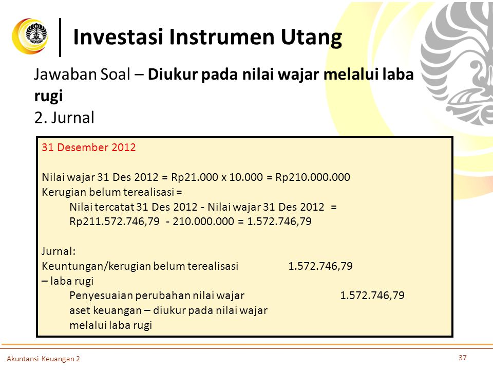 Investasi Instrumen Utang