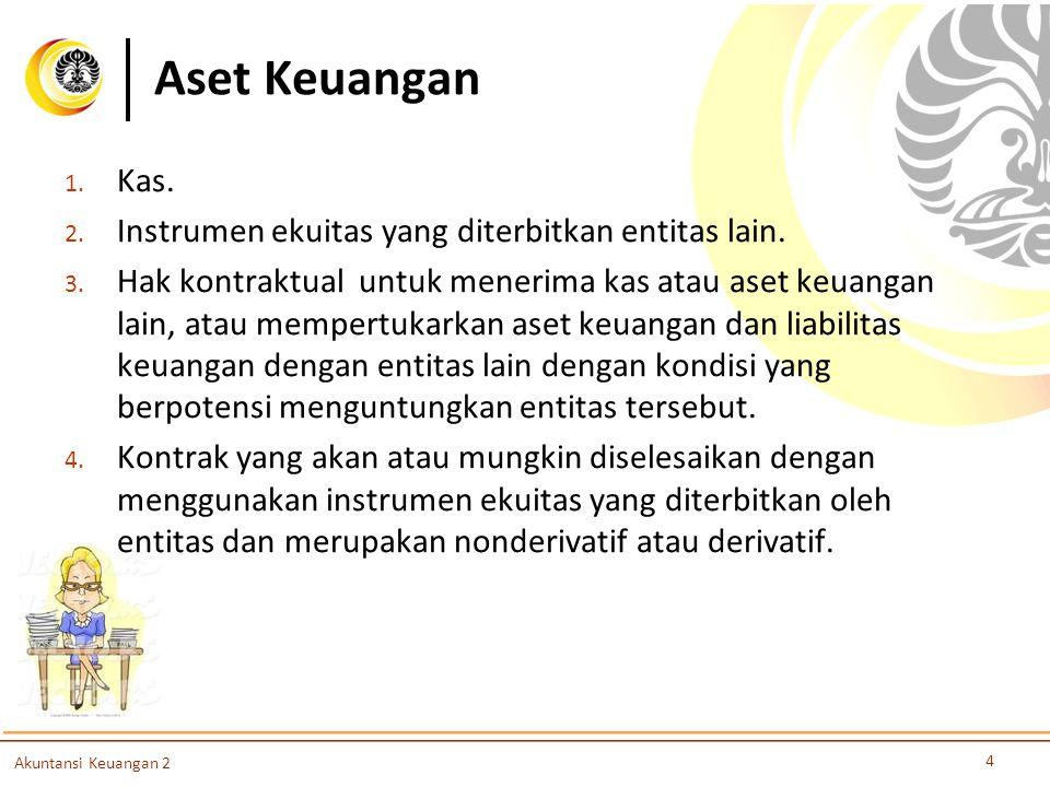 Aset Keuangan Kas. Instrumen ekuitas yang diterbitkan entitas lain.